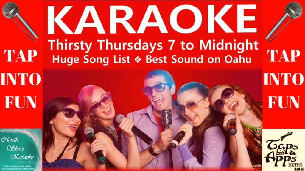 Karaoke Thursdays!